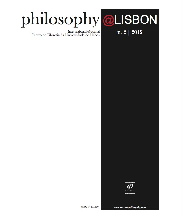 gen�rica:International eJournal Center of Philosophy of the University of Lisbon